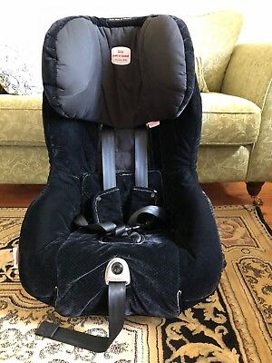 Britax Safe n Sound Meridian Convertible Baby Seat/Capsule Blk - Sth Melb 7200/A