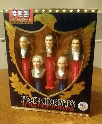 Presidents Of The United States Volume 1 Pez Educational Series 1789-1825