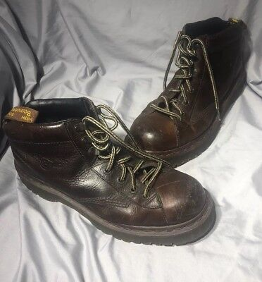 VINTAGE Doc Dr.Martens England Brown Leather Boots Shoes Mens US 11 UK 10 CHUKKA