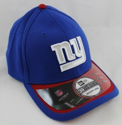 newest 90dad 0f4d6 Men s New Era New York Giants Hat - Sideline 39THIRTY Stretch-Fit Cap - M