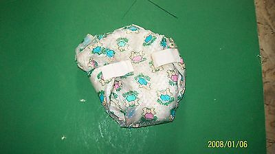 CABBAGE PATCH KIDS DOLL original  logo diapers off a doll  BABY STYLE