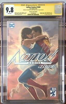 ACTION COMICS #1000 CGC SS 9.8 -Third Eye Kaare Andrews Variant -signed Tom King