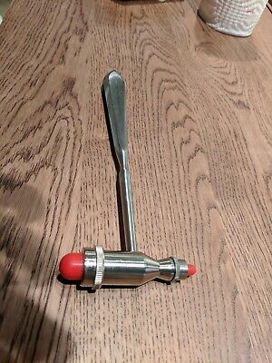 MDF Tromner Neurological Reflex Hammer with pointed tip handle RED