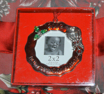 2009 Baby's First Christmas 2x2 Photo Ornament