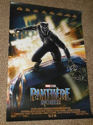 "Black Panther ""FRENCH VER B"" 27x40 Original D/S Movie Poster"