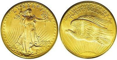 MINI 1907 ST GAUDENS DOUBLE EAGLE  1//2  GRAM GOLD COIN ROUND BAR FREE SHIPPING