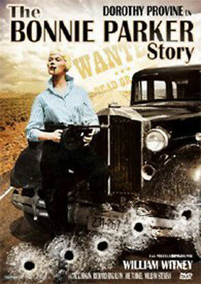 The Bonnie Parker Story NEW PAL Classic DVD William Witney D. Provine Jack Hogan