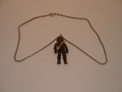 Star Wars 1977 Chewbacca Pendant/Necklace 20th Century-Fox Display Only