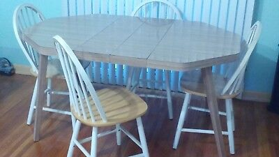 5 pc dining table set with table and 4 chairs - local pickup Queens NY
