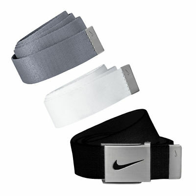 NIKE 3 IN 1 WEB PACK Men's Golf Belts Black / White / Gray One Size Fits Most