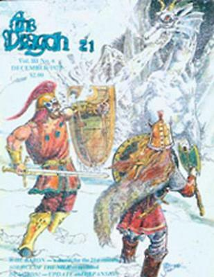 "TSR Dragon Magaz #21 ""Dungeon Update & Expansion, Source of the Nile, Ra Mag VG"