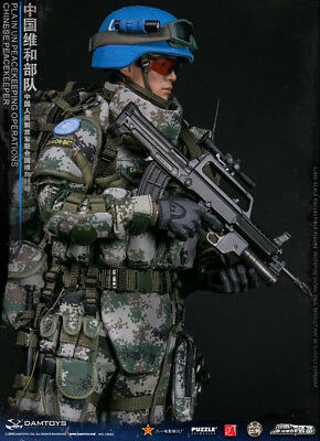 DAMTOYS 78062 1/6 Chinese Peacekeeper -PLA in UN Peacekeeping Operations Figure