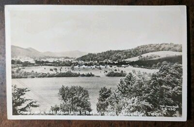 RPPC Caryville Tennessee TN Campbell County Cove Lake Mountain Postcard