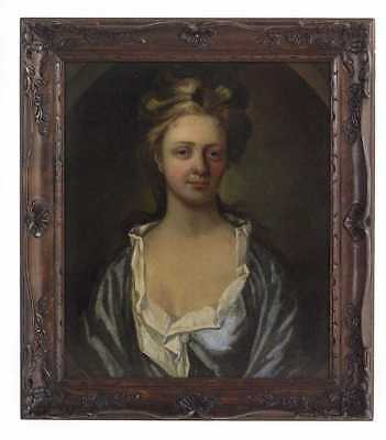 Fine 17th, 18th C Portrait Painting of a Noble Girl,  MUSEUM ACQUISITION