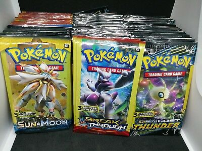 New Pokemon cards Packs, 35 Packs
