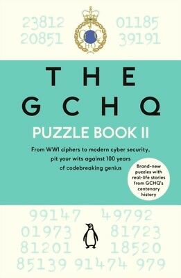 The GCHQ Puzzle Book II by GCHQ  9780241365434