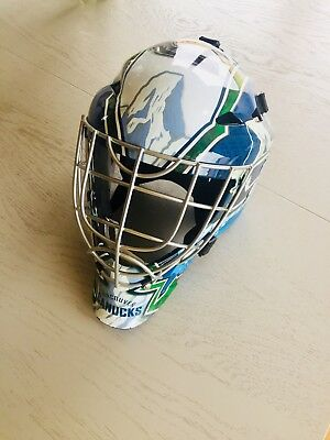 Franklin Goalie Maske GFM1500 Streethockey Vancouver Canucks