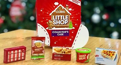 Coles Little Shop (Christmas Edition) Collectibles - FREE POSTAGE + CHECKLIST