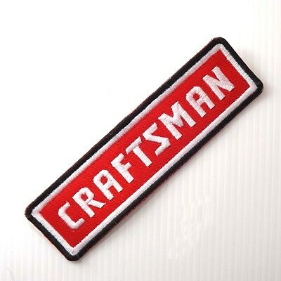 """4.3/4""""x1P. Craftsman Tools Embroidered Iron On Patch Shirt Shorts Cap"""
