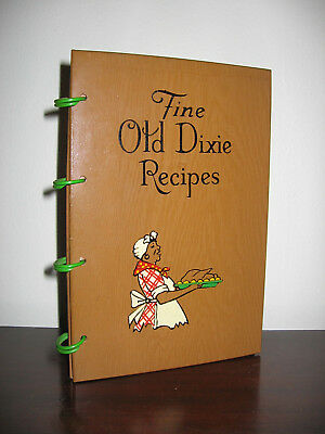 SOUTHERN COOK BOOK OF FINE OLD RECIPES - Lillie S. Lustig - 1939 First Edition!
