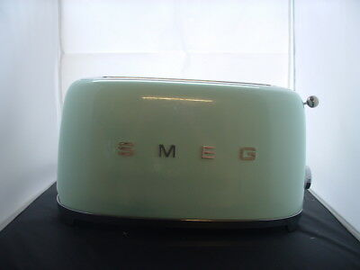 Smeg TSF02PGUK Pastel Green 50's Retro 4 Slice Toaster-Return-60 Day Warranty