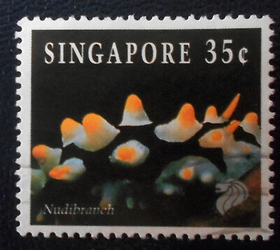 Singapore - Singapour - 1994 Definitive Sea Life 35 c Nudibranch used (31) -