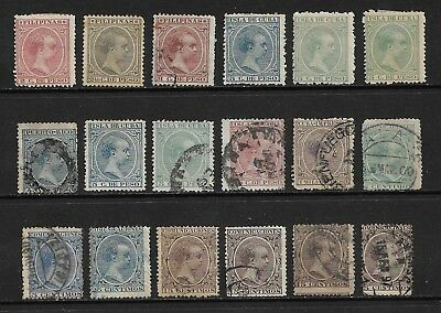 SPAIN & COLONIES, from 1889, King Alfonso XIII, Baby, mint MH & used