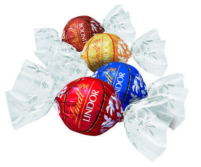 Lindt Chocolate Lindor 1 (One) Kilo Assorted Balls