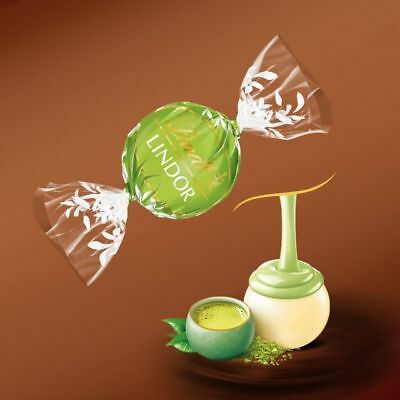 Lindt Chocolate Lindor 1 (One) Kilo Matcha Tea Balls