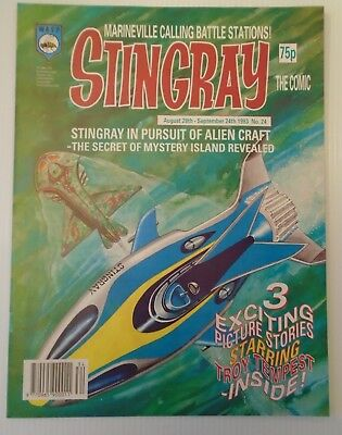 STINGRAY The comic no 24 1993   W A S P.