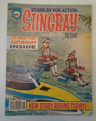 STINGRAY The comic no 16 1993   W A S P.