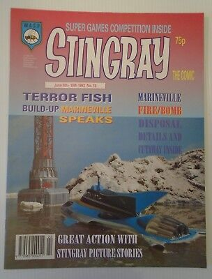 STINGRAY The comic no 18 1993   W A S P.