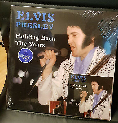 Elvis Collectors LP -  Holding Back The Years 2 LP + CD (Blue Edition)