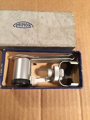 Vintage Minox Film Viewer in Box Made In Germany Betrachtungslupe Hand Held