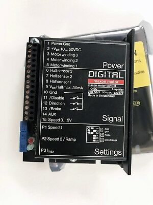 Maxon DEC 50/5, digital 1-Q-EC Amplifier 50 V / 5 A, speed control, PWM operatio