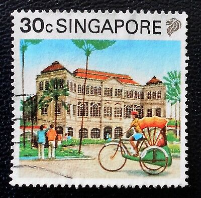 Singapore - Singapour - 1990 Definitive Tourism 30 c Raffles Hotel used (12) -