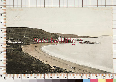 Canty Bay, North Berwick vintage postcard Berwick p/mark 1904
