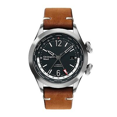 Christopher Ward C8 UTC Worldtimer Aviator Watch - Rare Brand New GMT Automatic