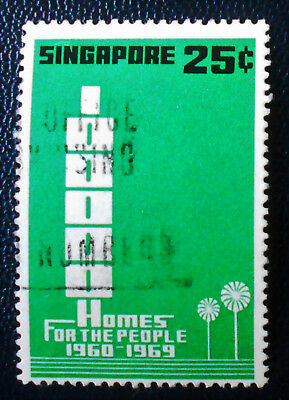 Singapore - Singapour - 1969 1960-69 Building Program 25 c used (28) -