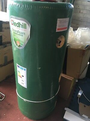 Gledhill Vented Hot Water Cylinder Indirect, pump and 2 valves