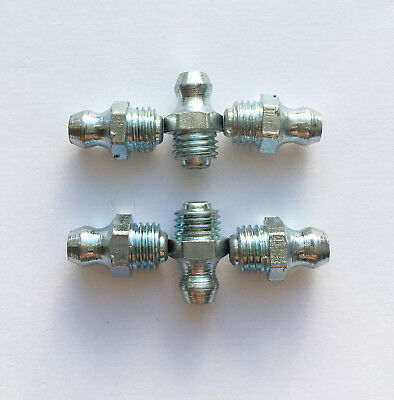 Grease Nipples M8 X 1.00 Straight Pack Of 6 New Atv Quad