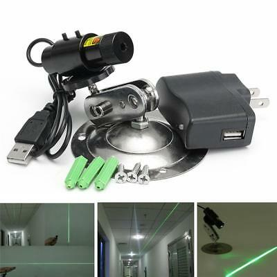 532nm 50mW Green Laser Module Locator for Cutting Machine+Adapter +Mount+Bracket