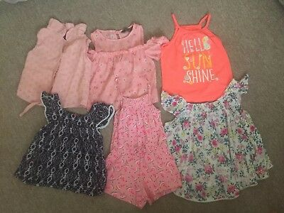 Girls Age 3-4 Tops And Jumpsuit
