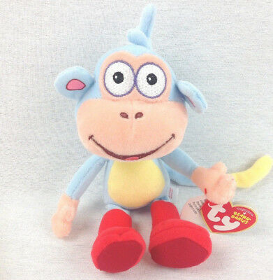 TY BOOTS the MONKEY BEANIE BABY ICE SKATING MINT with MINT TAGS