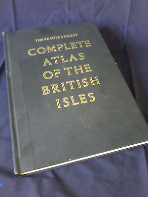 Vintage. Readers Digest.Complete Atlas of British Isles:1st Edition. Hardcover.