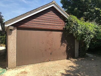 Double Garage - concrete sectional - used - 5.85m x 5.06m