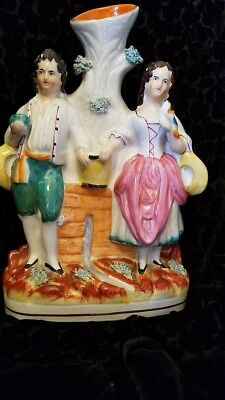 Staffordshire Figurine, Man and Woman