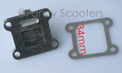 High Performance Pocket bike Engine Alloy Intake with gasket, PART02H003