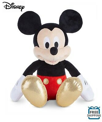 "Offical Disney Mickey Mouse Stuffed Plush Classic Mickey Doll 16"" - SHIPS FREE!"