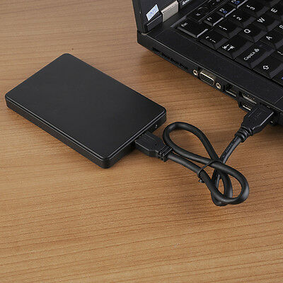 "USB 3.0 External Enclosure Case Box Caddy For SATA 2.5"" inch Hard Disk Drive HDD"
